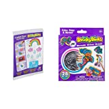 Shrinky Dinks Creative Pack 10 Sheets Crystal Clear Kids Art and Craft Activity & Minis Mermaids Kids Art and Craft Activity