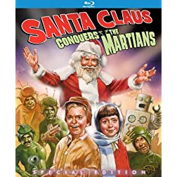 Santa Claus Conquers the Martians: Kino Classics Special Edition [Blu-ray]