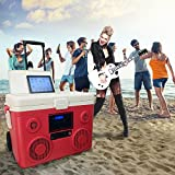 TUNES2GO CA-E065R KoolMAX Bluetooth Speaker (Red)