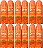 Off! Active  6-Ounce Cans (Pack of 12)