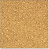 The Board Dudes Light Cork Tiles, 12 x 12, 4pk