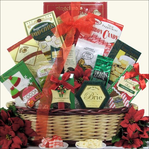 Tidings of Joy ~ Medium: Christmas Holiday Gift Basket