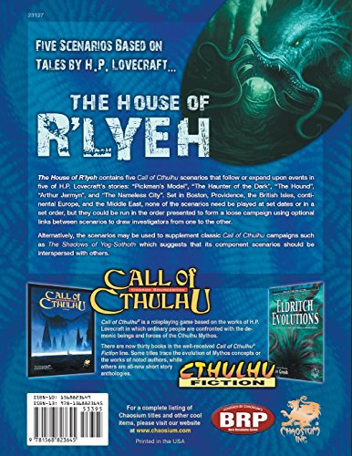 The House of R'lyeh (Call of Cthulhu)