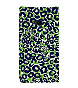 Cat Painting 3D Hard Polycarbonate Designer Back Case Cover for Nokia Lumia 535 :: Microsoft Lumia 535