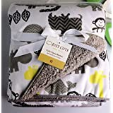New Baby Warm Blankets Newborn Soft Double Layer Coral Fleece Carter Blanket