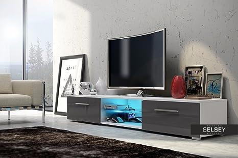 TV LOWBOARD Armario nessy con iluminación LED