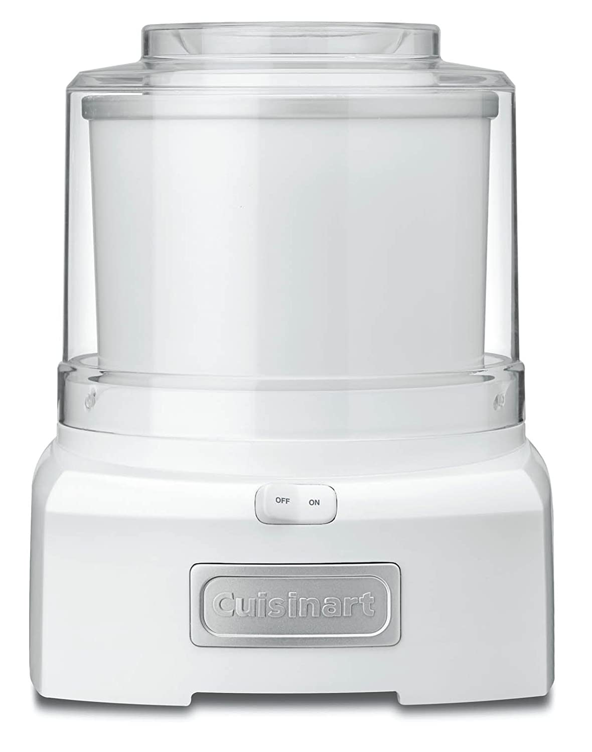 Conair Cuisinart Frozen Yogurt Ice Cream Maker White