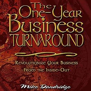 The One-Year Business Turnaround Audiobook