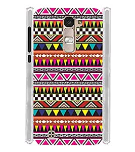 Indian Pattern Art Wall Soft Silicon Rubberized Back Case Cover for LG K10 Dual :: LG K10