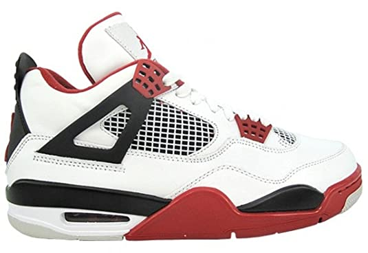 ... nike air jordan 4 iv men\u0026#39;s shoes red black ...