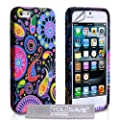 Yousave Accessories Silicone Jellyfish Case for iPhone 5/5S - Multicoloured