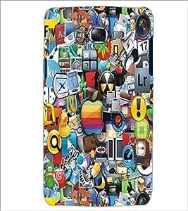 PrintDhaba Graffiti D-4244 Back Case Cover for SAMSUNG GALAXY J7 (Multi-Coloured)