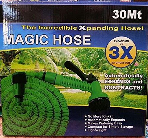 Ogima 50/75/100ft Expanding Hose Magic Flexible Expandable Garden ...