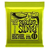 Ernie Ball 2221 Regular Slinky Nickel Wound Set, .010 - .046