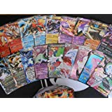 50 Assorted Pokemon Trading Cards w/ FREE EX or Full Art