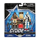 G.I. Joe, 50th Anniversary, Classic Clash Action Figure Set [Spirit Iron Knife vs. Storm Shadow], 3.75 Inches