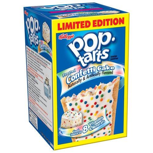 Pop Tarts - Confetti Cupcake (8 Per Pack)