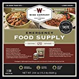 Wise Company 120 Serving Entree Only Grab and Go Kit (15x12x10-Inch/20-Pounds)