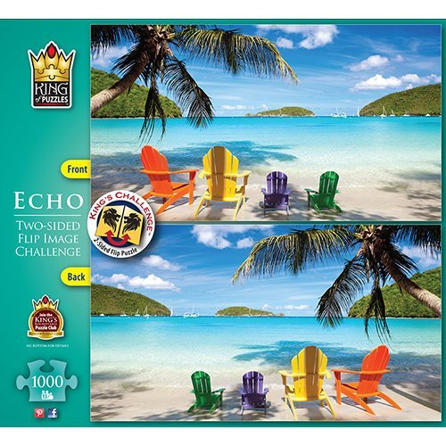 Echo Beach Scene 1000 Piece Puzzle