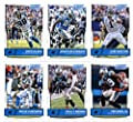 2016 Score Carolina Panthers Veterans Team Set of 11 Football Cards: Cam Newton(#43), Jonathan Stewart(#44), Greg Olsen(#45), Ted Ginn Jr.(#46), Philly Brown(#47), Devin Funchess(#48), Kelvin Benjamin(#49), Luke Kuechly(#50), Josh Norman(#51), Jared Allen