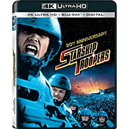 Starship Troopers (20th Anniversary) [4K Ultra HD + Blu-ray]