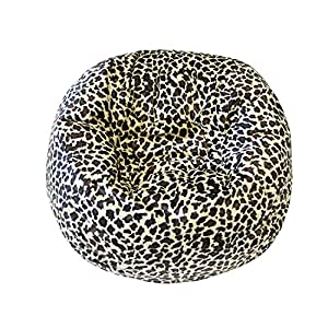 Gold Medal Small/Toddler Safari Micro-Fiber Suede Bean Bag, Jungle Cat