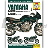 Haynes Manual 2145 for Yamaha XJ600S (Diversion, Seca II)/XJ600N Fours (9