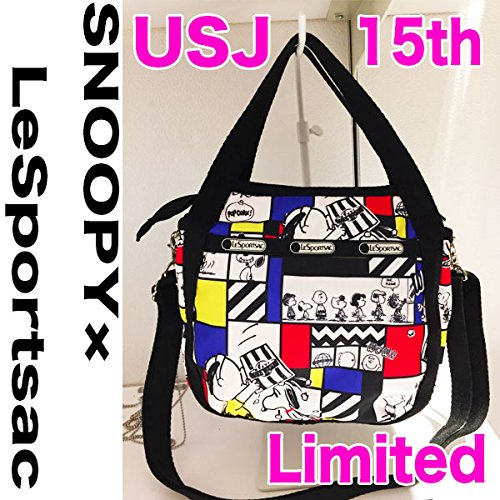 rare-universal-studio-japan-2016-15th-limited-lesportsac-snoopy-bag-usj-new-5