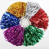 1 Pair Holes Handle Cheerleading Pom Poms, Price/2 Pieces, 0.02 KG/Piece, 6 Colors to Chooseby HOTER