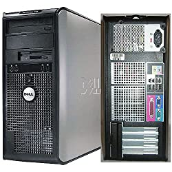 Dell OptiPlex 745 Pentium D 3400 MHz 400Gig Serial ATA HDD 4096mb DDR2 Memory DVD-RW Genuine Windows XP Professional Desktop Computer Professionally Refurbished by a Microsoft Authorized Refurbisher