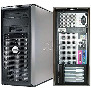 Dell OptiPlex 745 Pentium D 3400 MHz 400Gig Serial ATA HDD 2048mb DDR2 Memory DVD-RW Genuine Windows XP Professional Desktop PC Computer Professionally Refurbished by a Microsoft Authorized Refurbisher