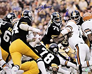 Pittsburgh Steelers Steel Curtain Signed Autographed 16x20 Photo PSA by Insider Sports Deals