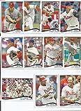 Philadelphia Phillies 2014 Topps MLB Baseball Regular Issue Complete Mint 21 Card Team Set with Ryan Howard, Jimmy Rollins, Chase Utley Plus