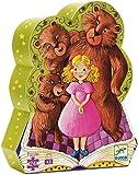 puzzle Boucle d'or et les 3 ours DJECO