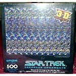Springbok 500 Piece Star Trek Keepsake Ornaments 3d Sensations Puzzle
