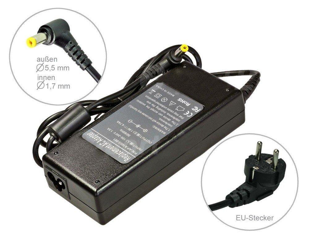 90W Alimentador Cargador Notebook AC Power compatible con Acer Aspire 5730G 5730ZG 5732zg 5733 5733Z 5735 5735z 5738 5738dzg 5738G, con eurocable  Electrónica Comentarios de clientes y más información