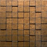 Harmony Cubes PVC Thermoplastic 3D Wall Panels - Decorative Luxury Interior Design Wall Paneling Decor Commercial And Residential Application 2' x 2', 4 sq ft (Gold Thread)