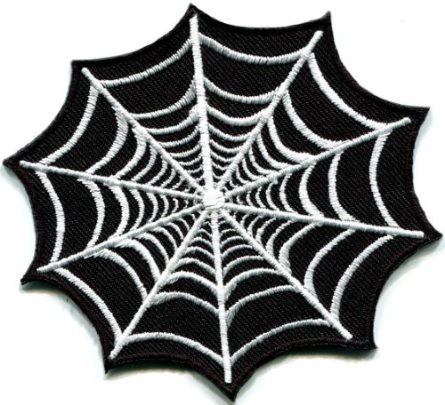 Spider-Web-Spiderweb-Retro-Boho-Tattoo-Sew-Sewing-Applique-Iron-on-Patch-S-697-Best-Seller-Good-Quality-From-Thailand