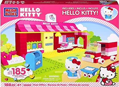 Mega Bloks Hello Kitty Post Office Super Set