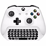 Smart with 2.4g mini wireless chat pad message keyboard for Microsoft Xbox one controller with 3.5 audio jack Rechargeable Battery by Shopidealy