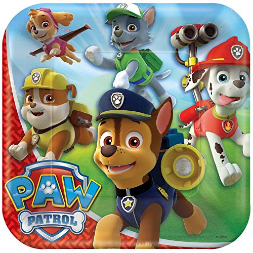 "Paw Patrol 9"" Lunch Plates 8ct"