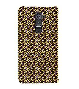 Yellow Flowers Art 3D Hard Polycarbonate Designer Back Case Cover for LG G2 :: LG G2 D800 D980