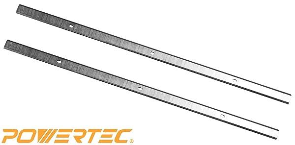 POWERTEC HSS Planer Blades for Delta 12.5 22-560/22-565