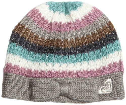 Roxy Girls 7-16 Sweet Tooth Knit Beanie With Bow Detail