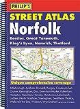 Philip's Street Atlas Norfolk: Spiral Edition