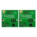 Diet Tea for Men and Women 30 Tea Bags, Three Ballerina(Pack of 2) (Tamaño: 30 Count (Pack of 2))