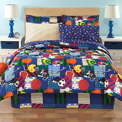 Baseball Bedding Twin 6340 front