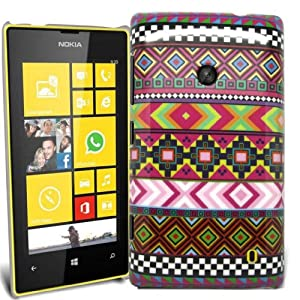 Accessory Master Coque hybride pour Nokia Lumia 520 Design coloré