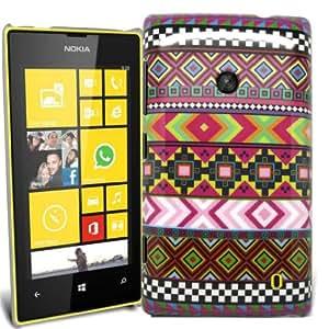 Accessory Master Coque hybride pour Nokia Lumia 520 Design coloré