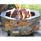 Firescapes The Contemporary Octagonal Propane Fire Pit